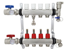 Radiant Heating PEX Manifold