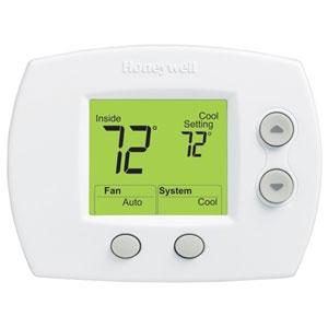 honeywell th5110d1006 focus pro 5000 thermostat, 1h/1c   ebay honeywell 5000 wiring honeywell aquastat wiring diagram common c