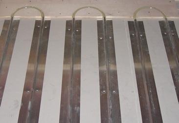 500 2ft Aluminum Heat Transfer Plates For 1 2 Quot Pex Ebay