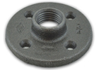 Black Iron Floor Flanges